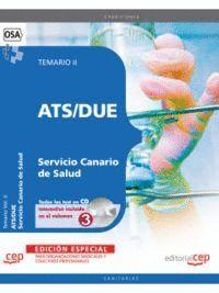 ATS/DUE SERVICIO CANARIO DE SALUD. TEMARIO VOL. II. EDICION ESPECIAL