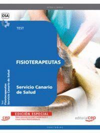 FISIOTERAPEUTAS SERVICIO CANARIO DE SALUD. TEST  EDICION ESPECIAL