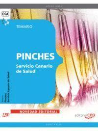 PINCHES DEL SERVICIO CANARIO DE SALUD. TEMARIO