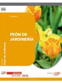 PEÓN DE JARDINERÍA. TEMARIO