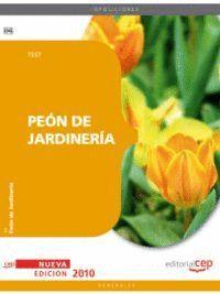 PEÓN DE JARDINERÍA. TEST