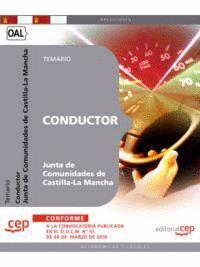 CONDUCTOR. JUNTA DE COMUNIDADES DE CASTILLA-LA MANCHA. TEMARIO