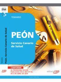 PEÓN SERVICIO CANARIO DE SALUD. TEMARIO