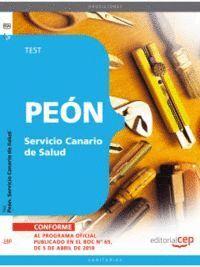 PEÓN SERVICIO CANARIO DE SALUD. TEST