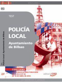 POLICA LOCAL DEL AYUNTAMIENTO DE BILBAO. TEST