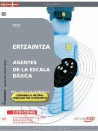 ERTZAINTZA. AGENTES DE LA ESCALA BÁSICA. TEST