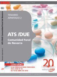 ATS/DUE COMUNIDAD FORAL DE NAVARRA. TEMARIO APARTADO 2