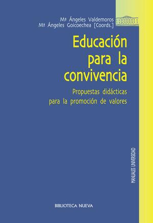 EDUCACIÓN PARA LA CONVIVENCIA