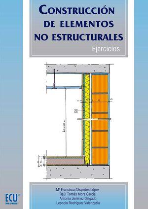 CONSTRUCCIÓN DE ELEMENTOS NO ESTRUCTURALES. EJERCICIOS