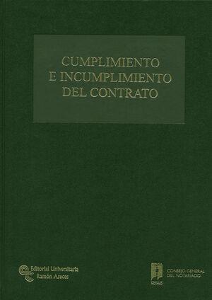 CUMPLIMIENTO E INCUMPLIMIENTO DEL CONTRATO