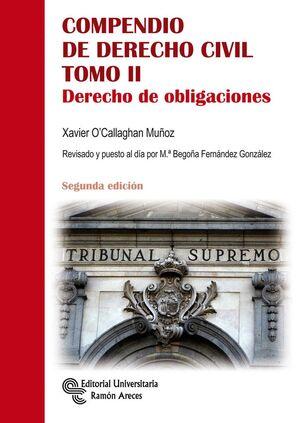 COMPENDIO DE DERECHO CIVIL. DERECHO DE OBLIGACIONES