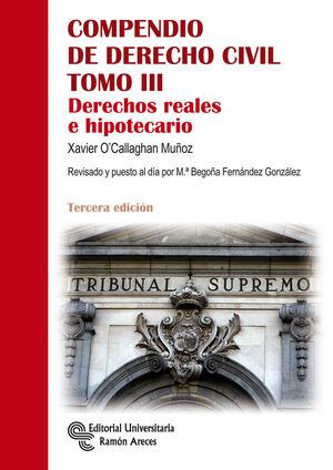 COMPENDIO DE DERECHO CIVIL. TOMO III