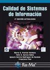 CALIDAD DE SISTEMAS DE INFORMACIÓN. 2ª EDICIÓN