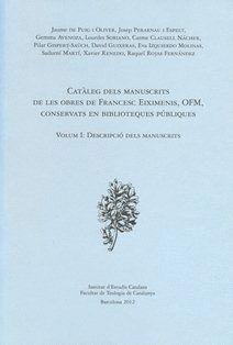 CATÀLEG DELS MANUSCRITS DE LES OBRES DE FRANCESC EIXIMENIS, OFM, CONSERVATS EN B