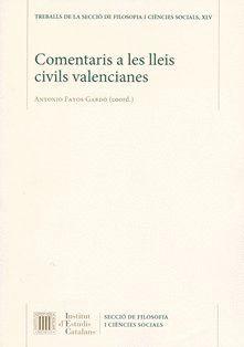 COMENTARIS A LES LLEIS CIVILS VALENCIANES