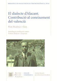 EL DIALECTE D'ALACANT