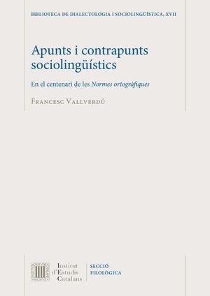 APUNTS I CONTRAPUNTS SOCIOLINGÜÍSTICS