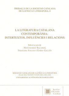LA LITERATURA CATALANA CONTEMPORÀNIA