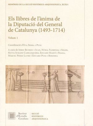 ELS LLIBRES DE L'ÀNIMA DE LA DIPUTACIÓ DEL GENERAL DE CATALUNYA (1493-1714)