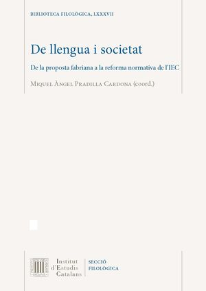 DE LLENGUA I SOCIETAT