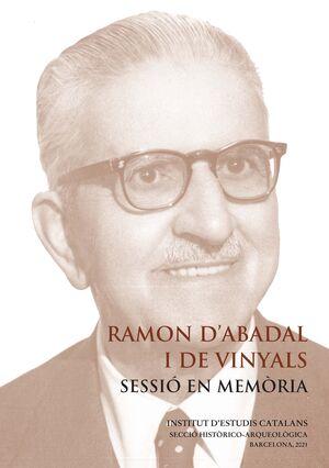 RAMON D'ABADAL I DE VINYALS