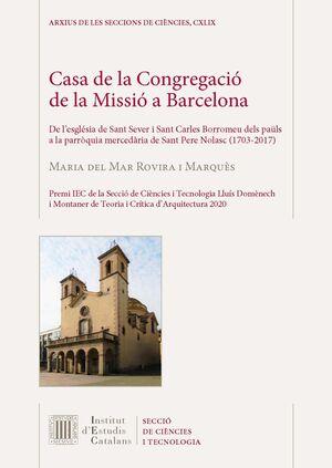 CASA DE LA CONGREGACIÓ DE LA MISSIÓ A BARCELONA