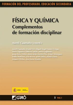 FÍSICA Y QUÍMICA. COMPLEMENTOS DE FORMACIÓN DISCIPLINAR