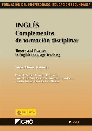 INGLÉS. COMPLEMENTOS DE FORMACIÓN DISCIPLINAR