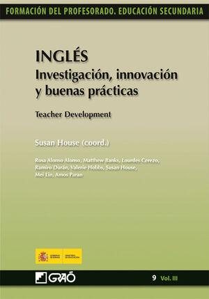 INGLÉS. INVESTIGACIÓN, INNOVACIÓN Y BUENAS PRÁCTICAS