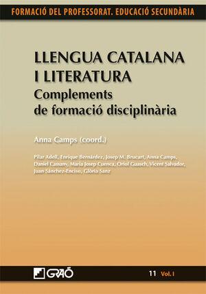 LLENGUA CATALANA I LITERATURA. COMPLEMENTS DE FORMACIÓ DISCIPLINÀRIA