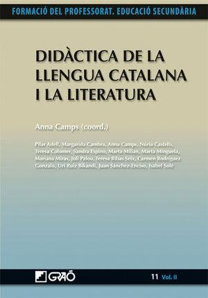 DIDÀCTICA DE LA LLENGUA CATALANA I LA LITERATURA