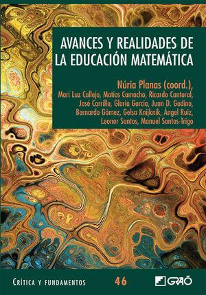 AVANCES Y REALIDADES DE LA EDUCACIÓN MATEMÁTICA