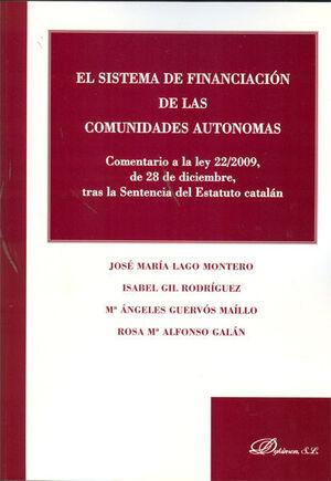 EL SISTEMA DE FINANCIACIÓN DE LAS COMUNIDADES AUTÓNOMAS