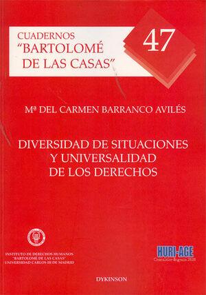 DIVERSIDAD DE SITUACIONES Y UNIVERSALIDAD DE LOS DERECHOS