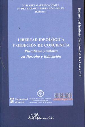 LIBERTAD IDEOLÓGICA Y OBJECIÓN DE CONCIENCIA