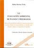 LA EVALUACIÓN AMBIENTAL DE PLANES Y PROGRAMAS