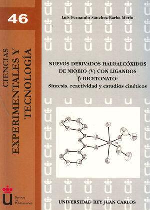 NUEVOS DERIVADOS HALOALCÓXIDOS DE NIOBIO (V) CON LIGANDOS ß-DICETONATO