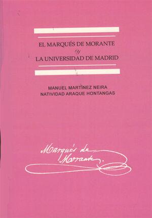 EL MARQUÉS DE MORANTE Y LA UNIVERSIDAD DE MADRID