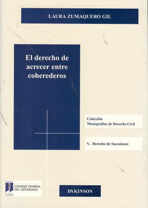 EL DERECHO DE ACRECER ENTRE COHEREDEROS