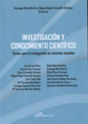 INVESTIGACIÓN Y CONOCIMIENTO CIENTÍFICO