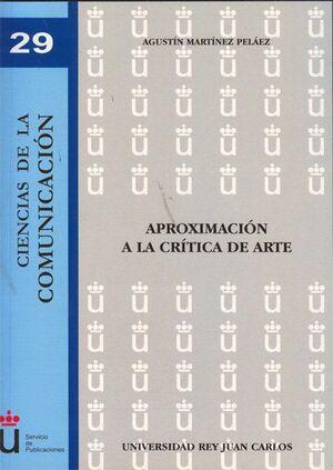 APROXIMACIÓN A LA CRTICA DE ARTE