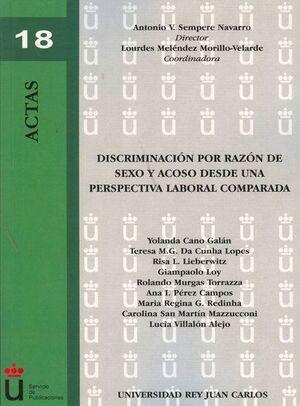 DISCRIMINACIÓN POR RAZÓN DE SEXO Y ACOSO DESDE UNA PERSPECTIVA LABORAL COMPARADA
