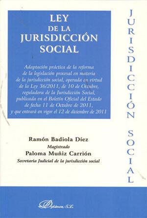 LEY DE LA JURISDICCIÓN SOCIAL 2011