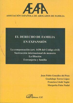 EL DERECHO DE FAMILIA EN EXPANSIÓN LA COMPENSACIÓN (ART. 1438 DEL CÓDIGO CIVIL) SUSTRACCIÓN INTERNAC