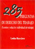 285 PREGUNTAS DE DERECHO DEL TRABAJO
