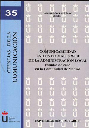 COMUNICABILIDAD EN LOS PORTALES WEB DE LA ADMINISTRACIÓN LOCAL