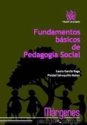 FUNDAMENTOS BASICOS DE PEDAGOGIA SOCIAL