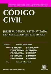 CODIGO CIVIL JURISPRUDENCIA SISTEMATIZADA