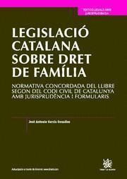 LEGISLACIO CATALANA SOBRE DRET DE FAMILIA NORMATIVA CONCORDADA DEL LLIBRE SEGON DEL CODI CIVIL DE CA