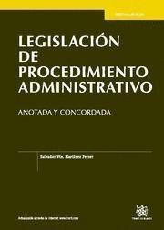 LEGISLACION DE PROCEDIMIENTO ADMINISTRATIVO